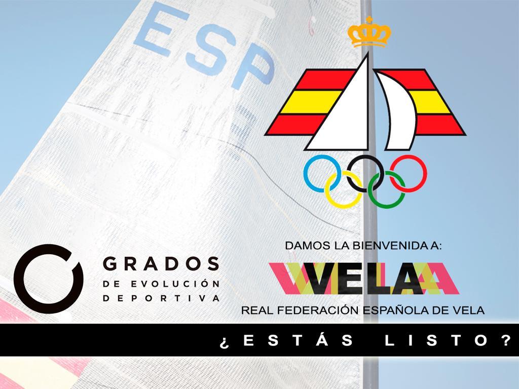 La Real Federación Española de Vela se adhiere al programa Grados de Evolución Deportiva