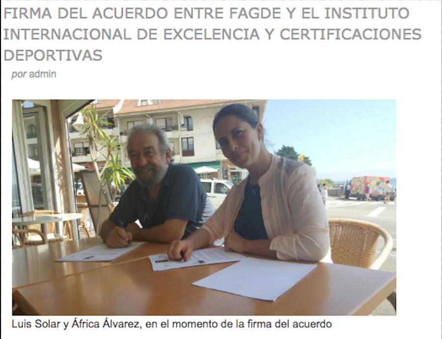 CONVENIO ENTRE EL IINS Y FAGDE