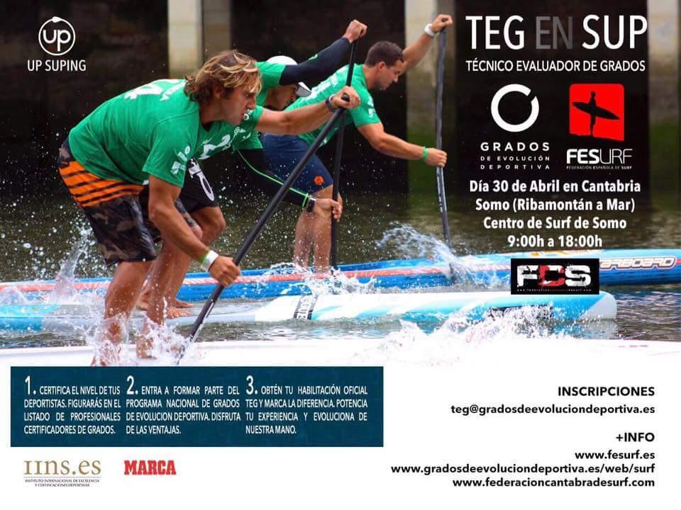 TEG en SUP, 30 de abril en Cantabria