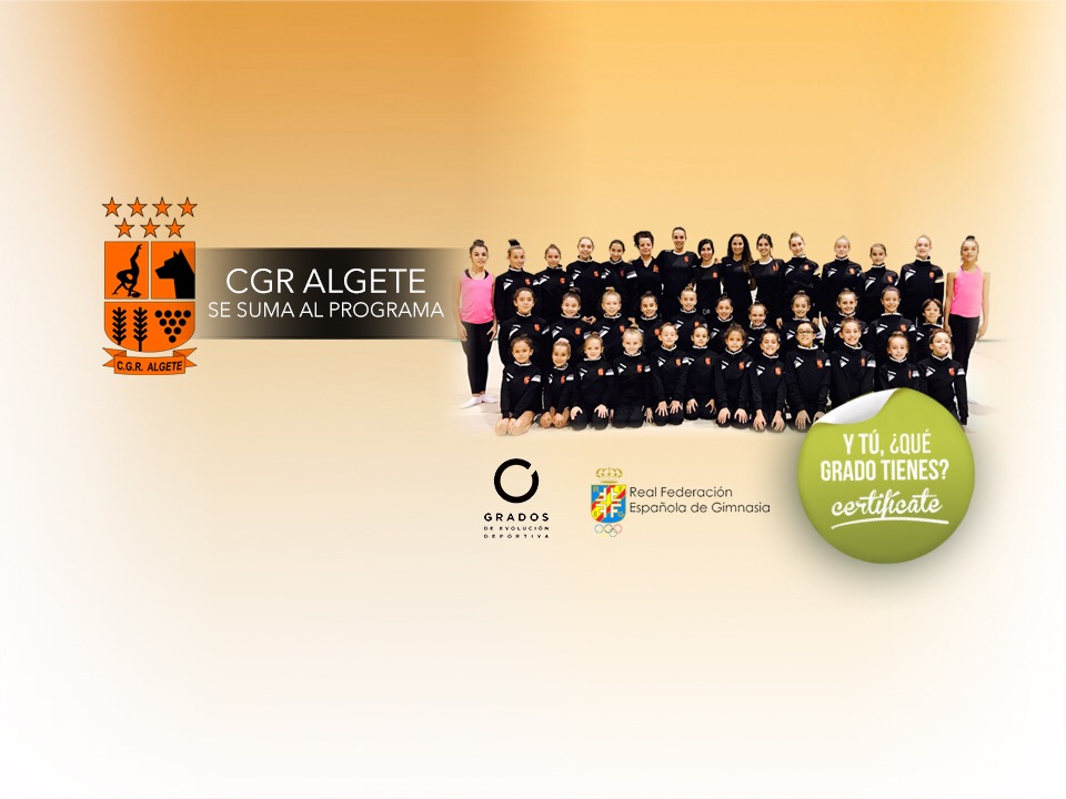 CGR Algete se suma al programa de #GradosDeportivos