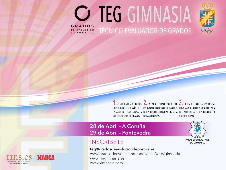Galicia acogerá dos nuevas jornadas para habilitar TEG de #Gimnasia