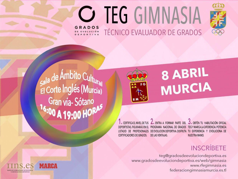 Fecha para la habilitación de técnicos de grados deportivos @_Grados_ en Murcia #certifícate