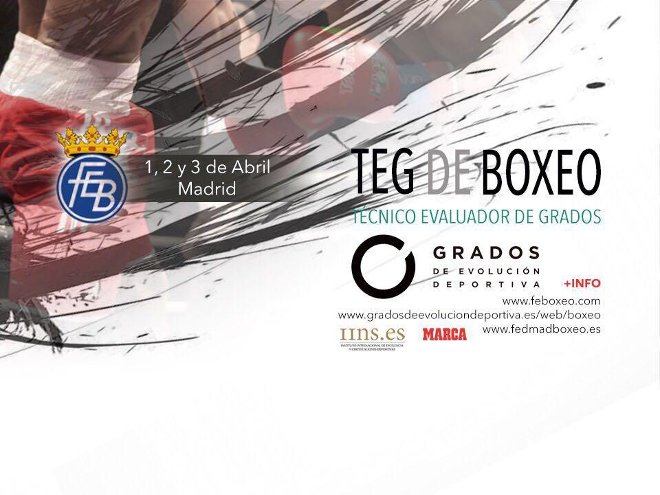 Los días 1, 2 y 3 de abril se celebrán unas nuevas jornadas TEG de Boxeo
