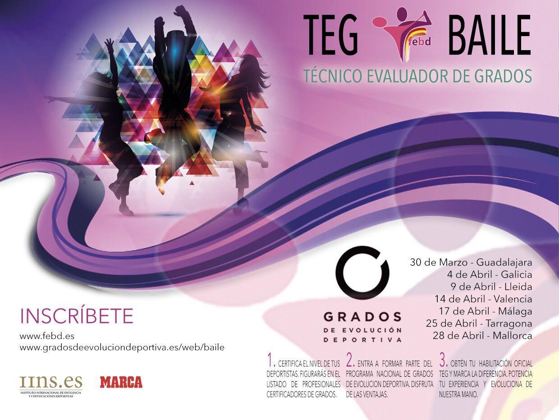 Calendario de los próximos TEG de Baile