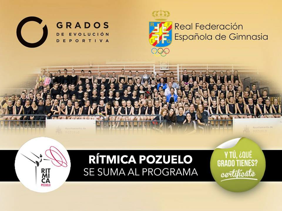 Club-Rítmica Pozuelo se suma al programa de #GradosDeportivos