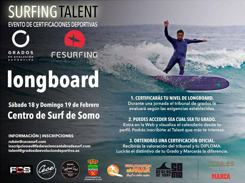 #Surfing Talent Longboard
